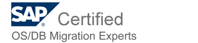 SAP Certified OS/DB Migration experts